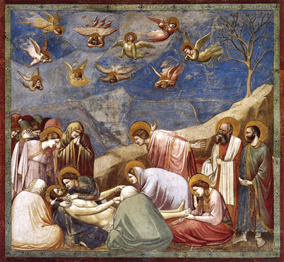 Giotto: Scenes from the Life of Christ: Lamentation