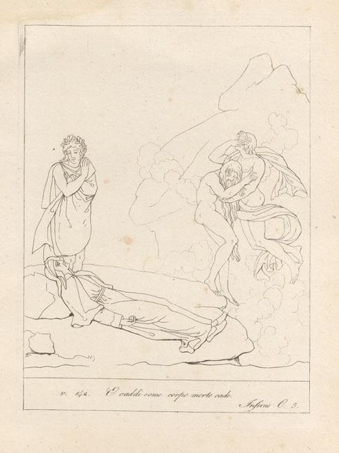 Giacomelli, Dante's swoon
