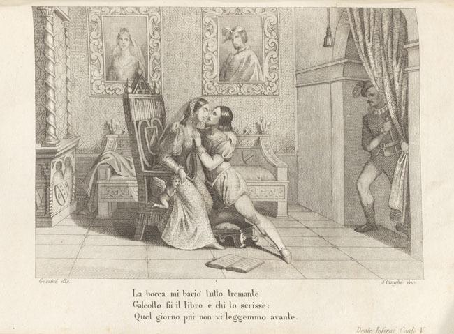 Gozzini, Paolo kisses Francesca