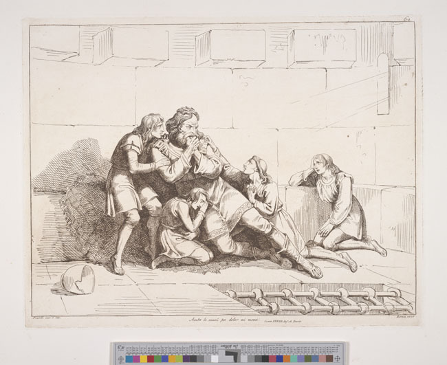 Pinelli, Ugolino's despair