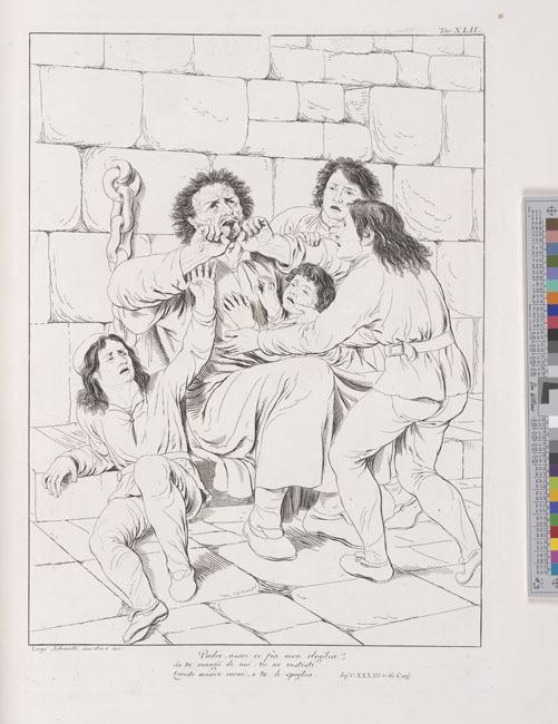 Ademollo, Ugolino's despair