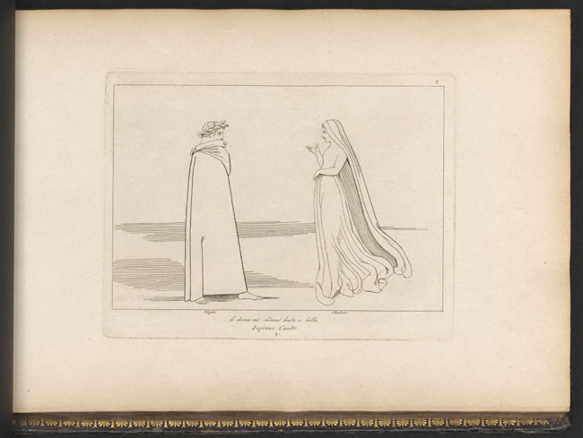 Flaxman, Virgil and Beatrice