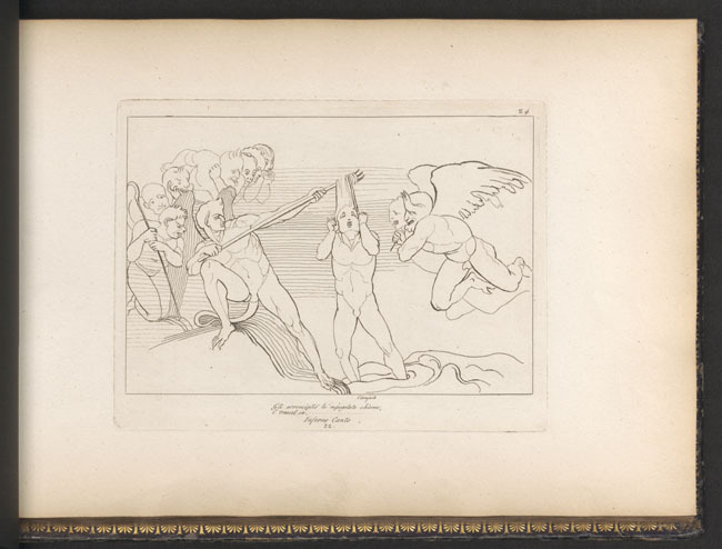 Flaxman, Devils and Barrator