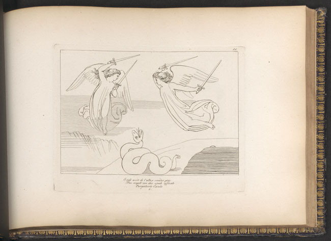 Flaxman, Angels and serpent