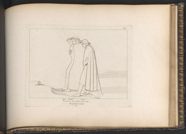 Flaxman, Statius, Dante, Virgil