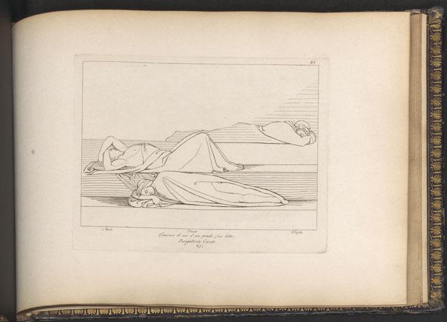 Flaxman, Sleeping poets