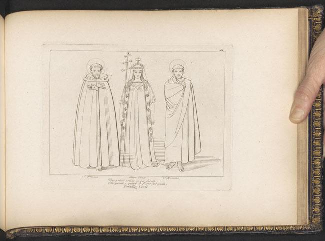 Flaxman, St. Francis, St. Dominic