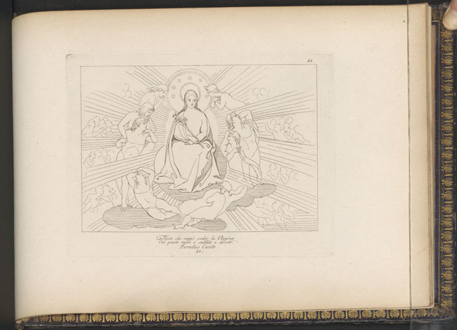 Flaxman, Virgin Enthroned
