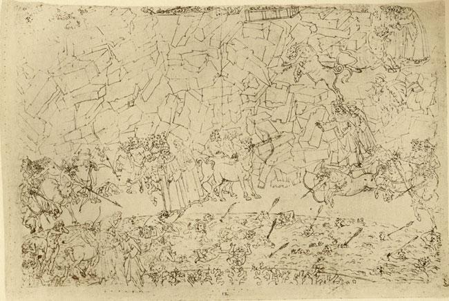 Botticelli, Violent