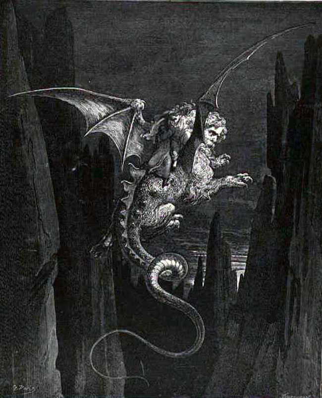 Imágenes de La Divina Comedia, Infierno