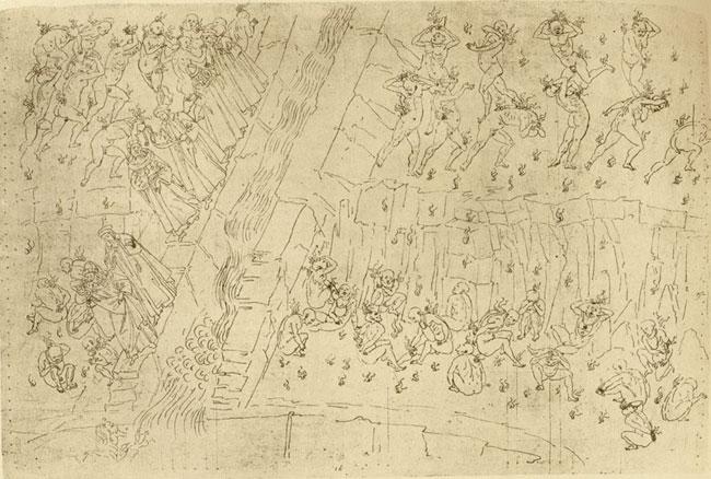 Botticelli, Sodomites, Usurers