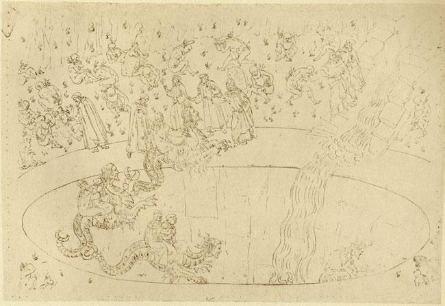 Botticelli, Usurers, Geryon