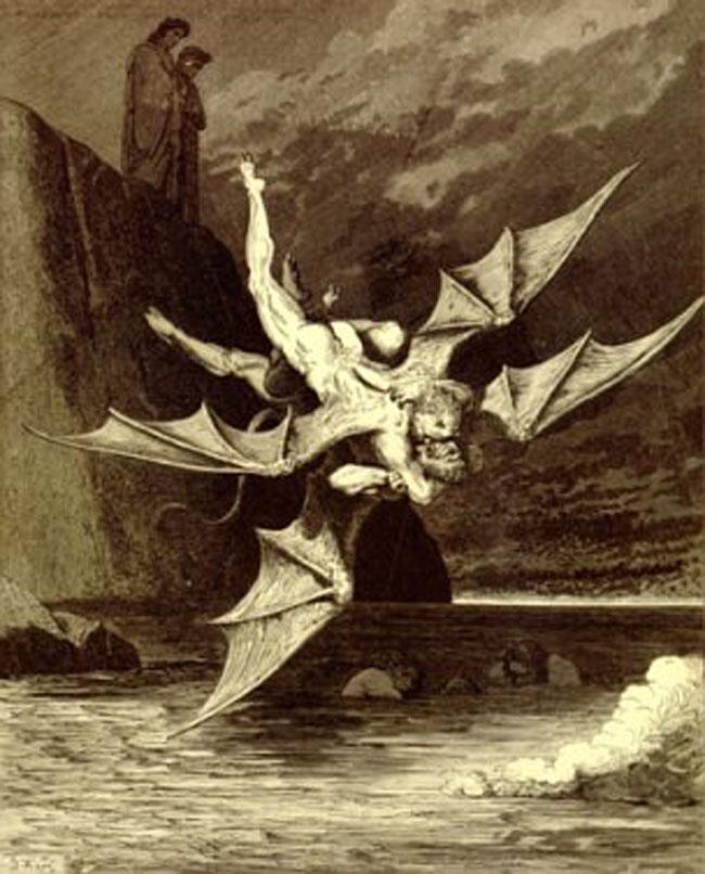 Doré, Fighting devils