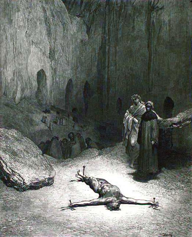 Doré, Caiaphas