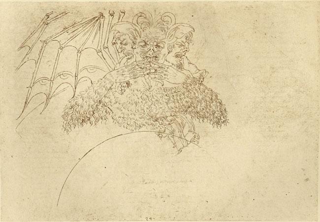Botticelli's satan