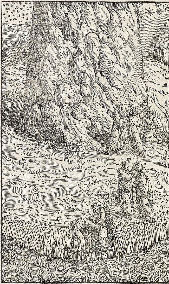 Vellutello, Purgatory shore