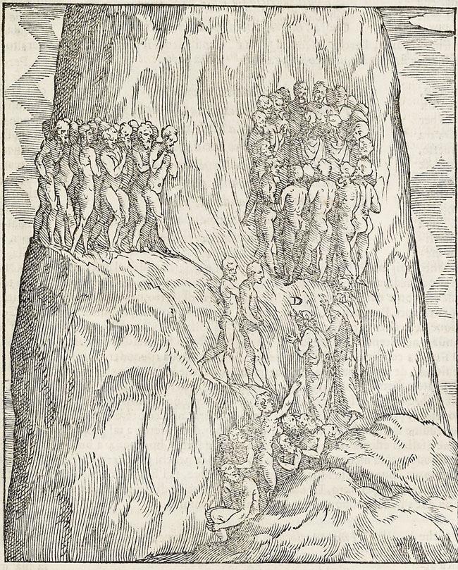 Vellutello, Late-penitents