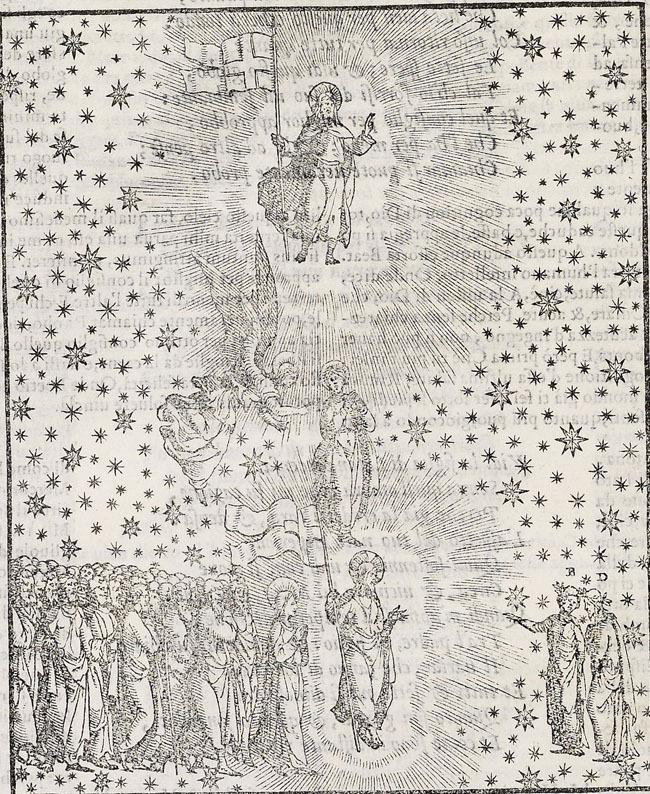 Vellutello, Triumph of Christ