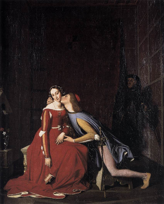 Ingres, Paolo and Francesca
