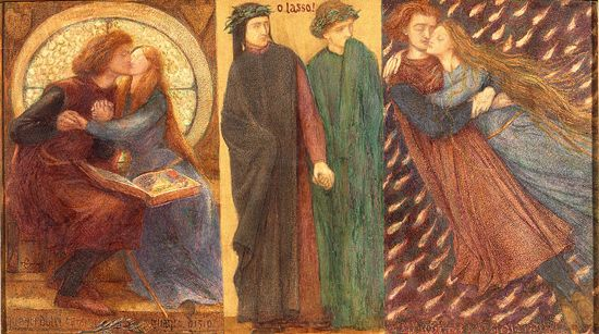Rossetti, Paolo and Francesca