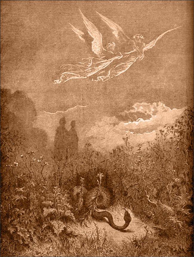 Doré, Serpent