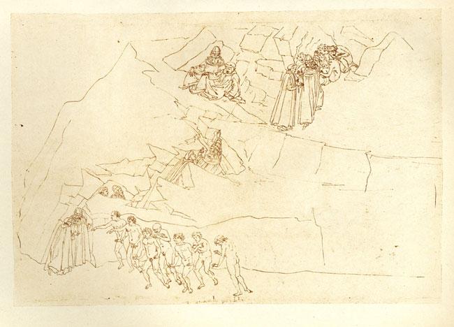 Botticelli, Mountain ascent
