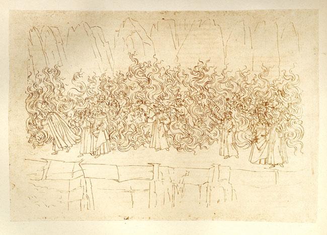 Botticelli, Terrace of Lustful