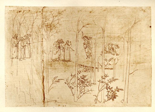 Botticelli, Matelda