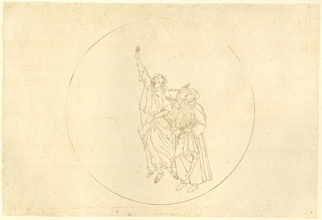 Botticelli, Ascent to fourth sphere