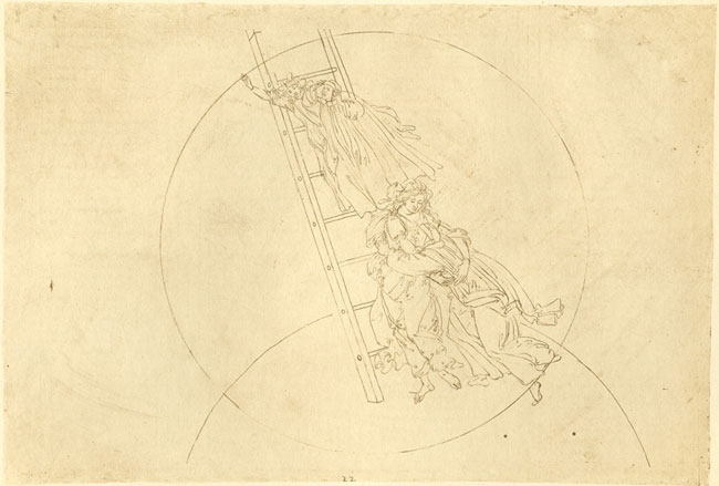 Botticelli, Ascent to fixed stars