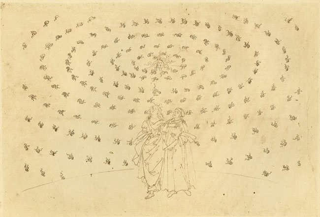 Botticelli, Dante's faith