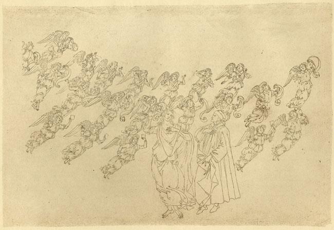 Botticelli, Creation of angels